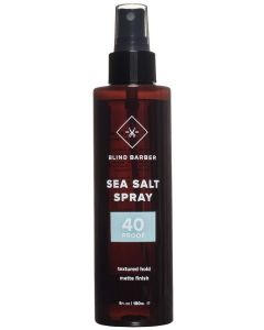 Blind barber sea salt spray 40 proof textured hold matte finish 180ml