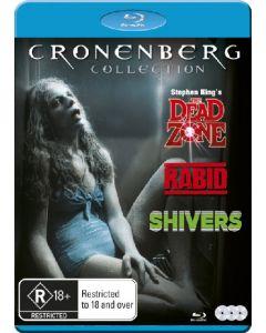 Blu-Ray box cronenberg collection på 3 dvd'er