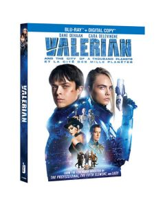 """Blu-Ray valerian and the city of a thousand planets """"blu-ray + digital download"""""""