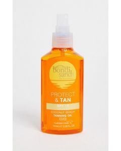 Bondi sands protect & tan SPF15 coconut beach tanning oil 150ml