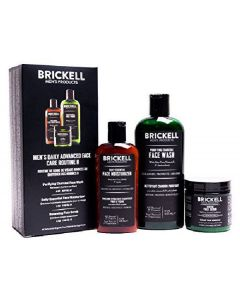 Brickell men's daily advanced face care routine 2 3 produkter