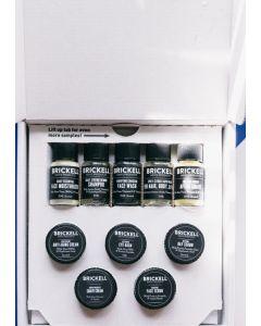 Brickell men's product best sellers sample kit - 10 dele