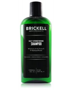 Brickell men's products daily strengthening shampoo 237ml