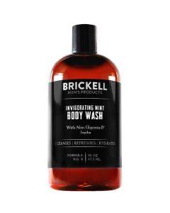 Brickell men's products invigorating mint body wash 473ml