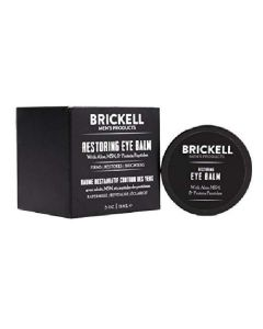Brickell men's products restoring eye balm 15ml