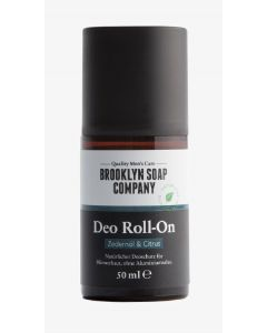 Brooklyn soap company deo roll-on zedernöl & citrus 50ml