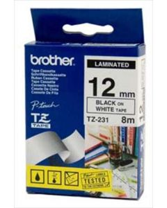 Brother TZ-231 12mm sort p