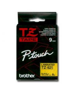 Brother TZ-621 9mm sort p