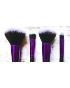 Brush works mini brush set (4 dele)