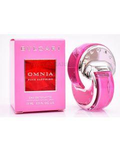 Bvlgari eau de toilette omnia pink sapphire 15ml (Æske ikke pæn)