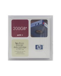 HP Ultrium 1 200GB Data Cartridge C7971A