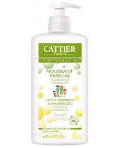 Cattier paris cosmetique & nature family shampoo & shower gel grapefruit fragrance 1L