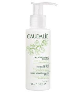 Caudalie paris gentle cleansing milk moisturizing sweet almond & soothing cornflower 100ml