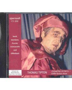 Cd Thomas Tipton - Schaut her, ich bin's