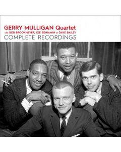 Cd gerry mulligan quartet - complete recordings (2 cd'er)