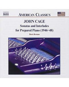 Cd john cage - sonatas and interludes for prepared piano