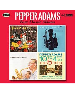 Cd pepper adams - four classic albums (2 cd'er)