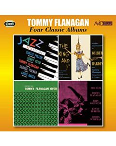 Cd tommy flanagan - four classic albums (2 cd'er)