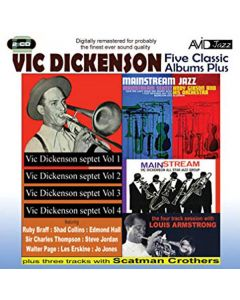 Cd vic dickenson - five classic albums plus (2 cd'er)