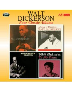 Cd walt dickerson - four classic albums (2 cd'er)