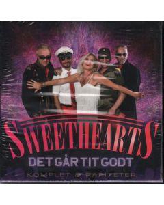 Cdbox Sweetherts - Det Går Tit Godt (8 Albums)