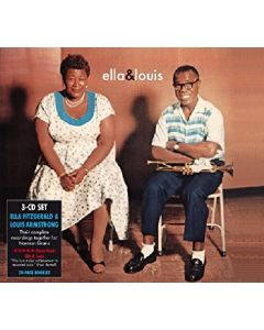 Cdbox Ella & Louis - The Complete Norman Granz Sessions