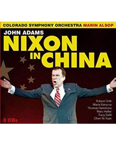 Cdbox john adams - nixon in china (3 cd'er)