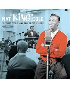 Cdbox nat king cole - the complete nelson riddle studio sessions (8 cd'er)