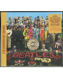 Cdbox the beatles - sgt. Peppers lonely hearts club band (2 cd anniversary edition)