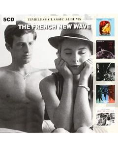 Cdbox the french new wave - timeless classic albums (5 cd'er)