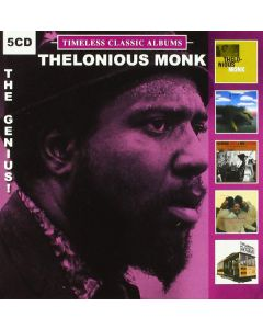 Cdbox thelonious monk - timeless classic albums (5 cd'er)