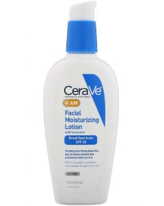 Cerave facial moisturizing lotion with sunscreen broad spectrum SPF30 89ml