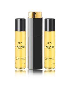 Chanel paris eau de parfum no. 5 3x20ml (Minus æske)