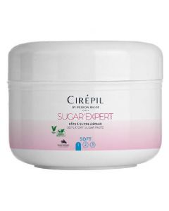 Cirépil by perron rigot paris sugar expert depilatory sugar paste 1 soft 190g