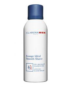 Clarins men paris rasage idéal smooth shave gel moussant foaming gel 150ml