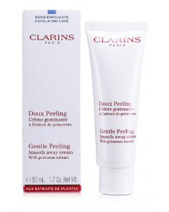Clarins paris gentle peeling smooth away cream 50ml