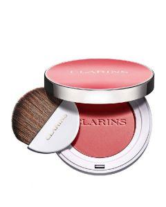 Clarins paris joli blush radiance & colour long-wearing blush 02 cheeky pink 5g