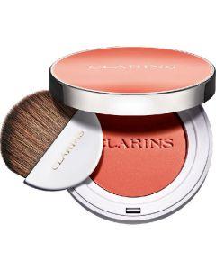 Clarins paris joli blush radiance & colour long-wearing blush 07 cheeky peach 5g