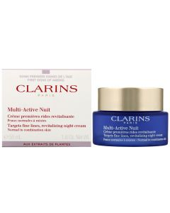 Clarins paris multi-active nuit targets fine lines revitalizing night cream 50ml