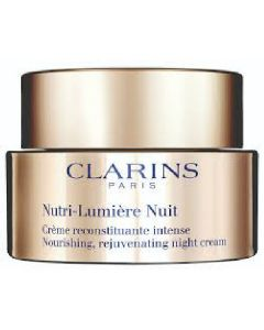 Clarins paris nutri-lumiére nuit nourishing rejuvenating night cream 50ml