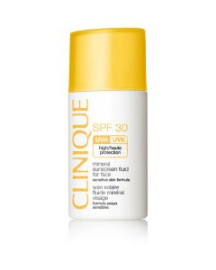 Clinique mineral sunscreen fluid for face high protection SPF30 30ml