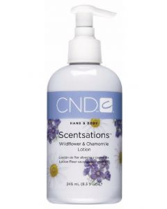 CND hand & body scentsations wildflower & chamomile lotion 245ml