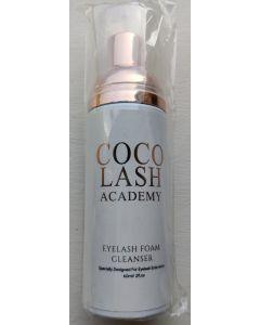 Coco lash academy eyelash foam cleanser 60ml