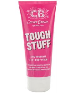 Cocoa brown by marissa carter tough stuff a no nonsense 3 in 1 body scrub 200ml
