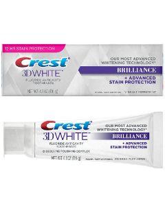 Crest 3D white brilliance fluoride anticavity toothpaste 116g