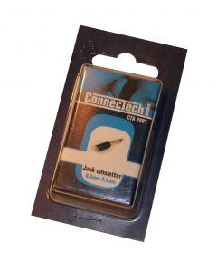 Jack omsætter 6,3mm - 3,5mm Connectech CTA 3001