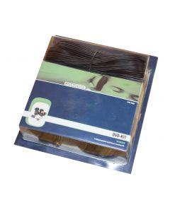 DVD-Kit S-VHS/phonokabel med diverse omsætterstik 10m Connectech CTV 7600
