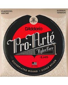 D'addario pro-arte nylon core EJ45 classical guitar