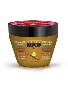 Daily defense 3 minute leave in treatment deep conditioner keratin & jojoba 147ml