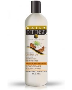 Daily defense conditioner revitalisant enriched with coconut oil 473ml